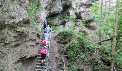 Artikelbild zu Artikel 22.07.2021 – Genießer Touren: Hinanger Wasserfall südlich von Sonthofen