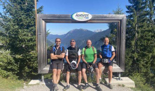 Artikelbild zu Artikel 17. – 19.9.2021 – Mountainbiker: MTB-Tour Achensee